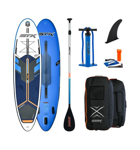 """STX Freeride 10'6"""" Blue 2020 Inflatable SUP"""