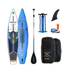 "STX Race 12'6"" x 32"" Blue 2020 Inflatable SUP"