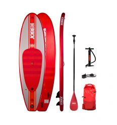 "Jobe Desna 10'0"" Red 2021 Inflatable SUP Package"