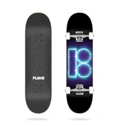 "Plan B Team Night Moves 31.85"" Complete skateboard"