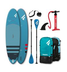 "Fanatic Fly Air 10'4"" Blue 2021 Inflatable SUP package"
