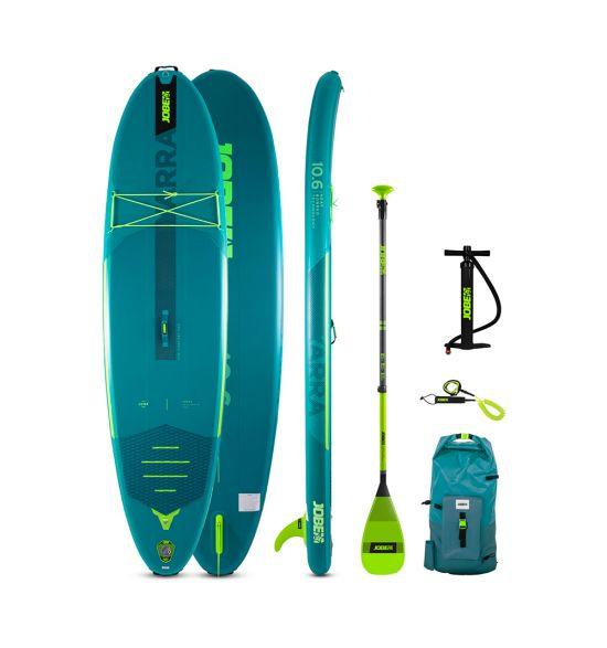 "Jobe Yarra 10'6"" Teal 2021 Inflatable SUP Package"