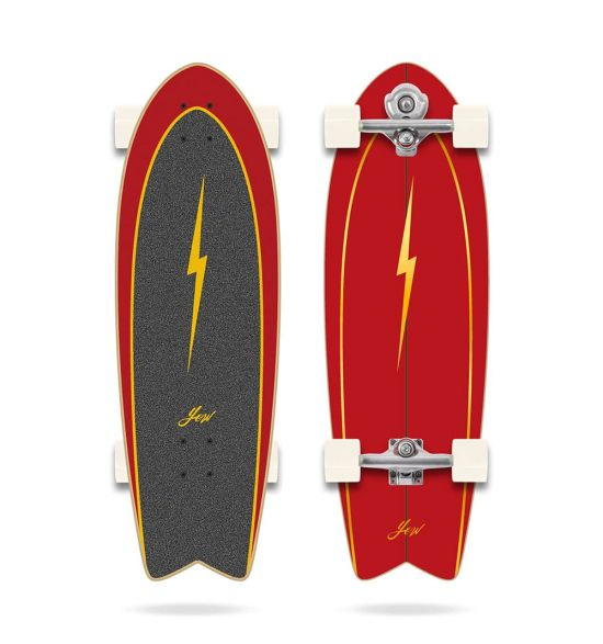 """Yow Pipe 32"""" Power Surfing Series surfskate"""