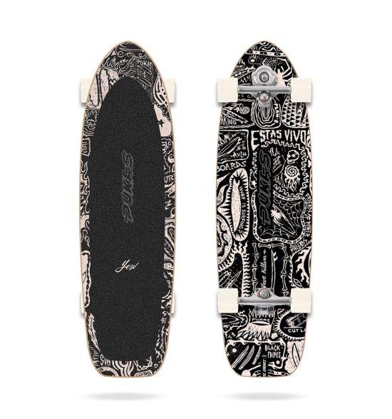 """Yow Dark 34.5"""" Pukas surfskate"""