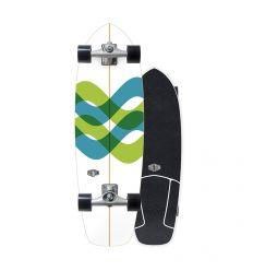 "Triton X Carver 31"" Signal Surfskate"
