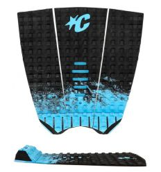 Creatures of Leisure Mick Fanning Black Fade Cyan traction pad