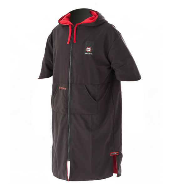 Prolimit Poncho OFSA ZIPPER Black/Red