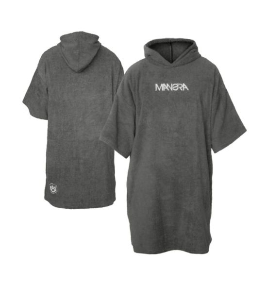 MANERA PONCHO GRIZZLY BROWN