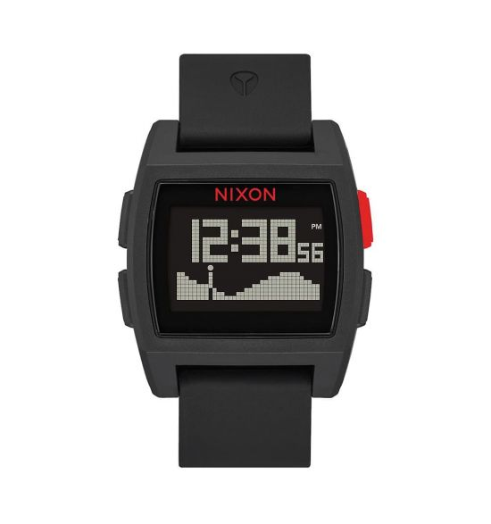 NIXON Base Tide 38mm Black / Red