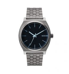 NIXON Time Teller 37mm Gunmetal / Blue Crystal