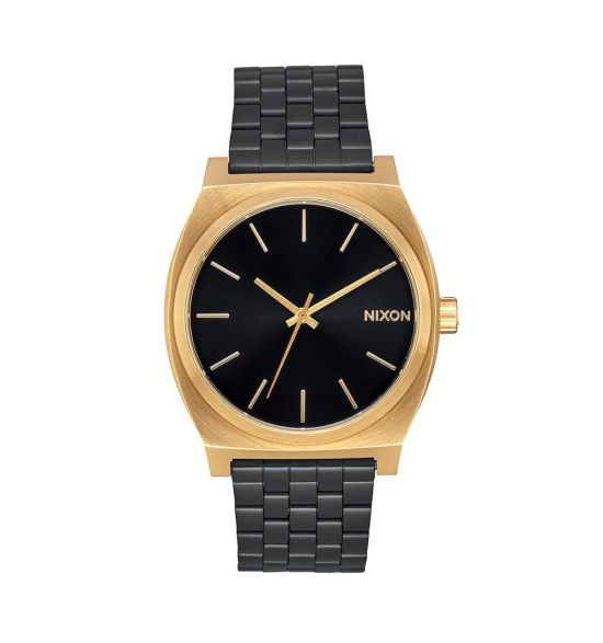 NIXON Time Teller 37mm Gold / Black Sunray