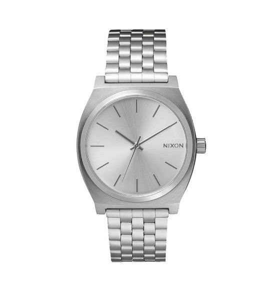 NIXON Time Teller 37mm All Silver