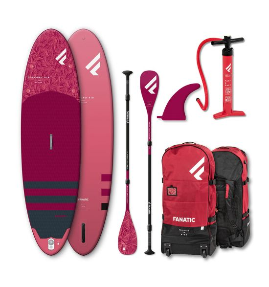"Fanatic Diamond Air 10'4"" 2020 SUP package"